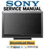 Thumbnail Sony KDL-52W3000 Service Manual & Repair Guide
