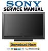 Thumbnail Sony KDL-52W3000 Manual de Servicio