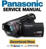 Thumbnail Panasonic HDC-TM300 + SD300 Service Manual & Repair Guide