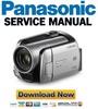 Thumbnail Panasonic SDR-H250 Service Manual & Repair Guide