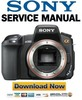 Thumbnail Sony Alpha DSLR A350 FULL Service Manual Pack Level 2, 3 + Adjustments
