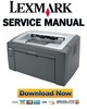 Thumbnail Lexmark E120 Service Manual & Repair Guide