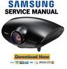 Thumbnail Samsung SP-A800B Service Manual & Repair Guide