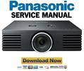 Thumbnail Panasonic PT-AE2000 Service Manual & Repair Guide
