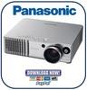 Thumbnail Panasonic PT-AE700 Service Manual & Repair Guide