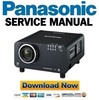 Thumbnail Panasonic PT-D12000 DZ12000 DW100 Service Manual & Repair Guide