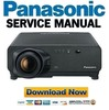 Thumbnail Panasonic PT-D7700  Service Manual & Repair Guide