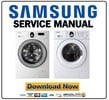 Thumbnail Samsung WF-8800 WF-8700 Series Service Manual & Repair Guide