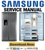 Thumbnail Samsung RSE8JPUS + RSE8JPUS1 Service Manual & Repair Guide