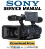 Thumbnail Sony HDR-FX1 + FX1E FULL Service Manual & Repair Manual Pack