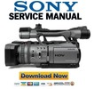 Thumbnail Sony HDR FX7 FX7E FULL Service Manual & Repair Guide
