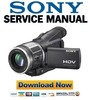 Thumbnail Sony HDR-HC1 Series Service Manual & Repair Guides Pack