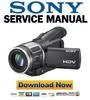 Thumbnail Sony HDR-HC1 Series Service Manual & Repair Guides Pack