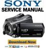 Thumbnail Sony HDR-SR11 SR11E SR12 SR12E Service Manual Package
