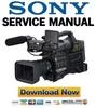 Thumbnail Sony HVR-S270 Service Manual & Repair Guide
