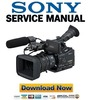 Thumbnail Sony HVR-Z7 FULL Service Manual & Repair Guide