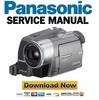 Thumbnail Panasonic NV-GS230 Service Manual & Repair Guide