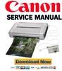Thumbnail Canon Pixma IP100 Service Manual & Repair Guide + Parts Catalog