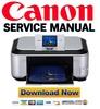 Thumbnail Canon Pixma MP620 + MP620B Manual de Servicio