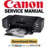 Thumbnail Canon Pixma Pro 9500 Pro9500 Mark II 2 Service Manual & Repair Guide + Parts Catalog