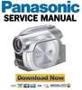 Thumbnail Panasonic VDR-D100 D150 D152 D158 Service Manual & Repair Guide