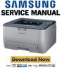 Thumbnail Samsung ML-2855ND Service Manual & Repair Guide
