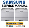 Thumbnail Samsung ML-4550 + 4551 Series Service Manual & Repair Guide