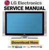 Thumbnail LG 37LC3R 42LC3R LCD TV Service Manual & Repair Guide