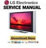 Thumbnail LG 42PX3RV Plasma TV Service Manual & Repair Guide