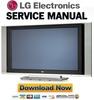 Thumbnail LG 42PX4RV Plasma TV Service Manual & Repair Guide