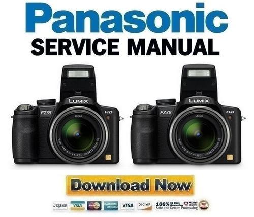 panasonic lumix dmc fz35 fz38 service manual repair guide downl rh tradebit com Yamaha Service Manuals PDF Chilton Manuals