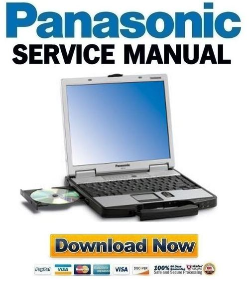 Pay for Panasonic Toughbook CF-74 Service Manual & Repair Guide