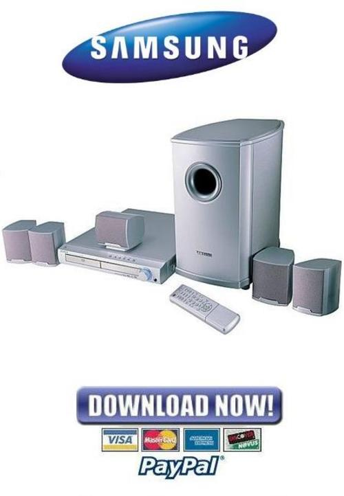 samsung home theater manual pdf