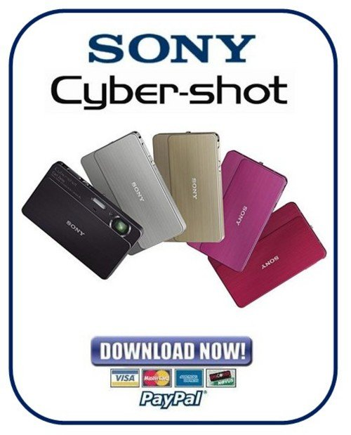 Pay for Sony Cybershot DSC-T700 Service Manual & Repair Guide