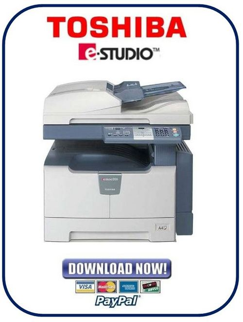 toshiba e studio 166 206 service manual repair guide download m rh tradebit com