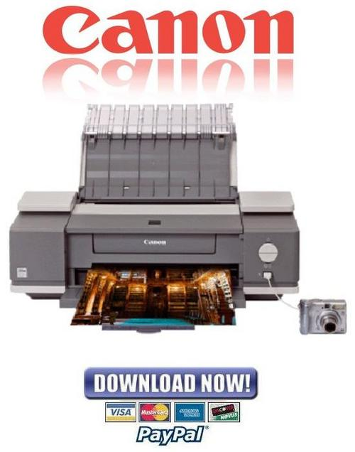 Pay for Canon PIXMA IX4000 + IX5000 Service & Repair Manual
