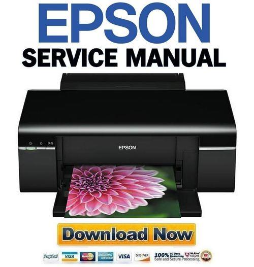 инструкция Epson T50 - фото 3