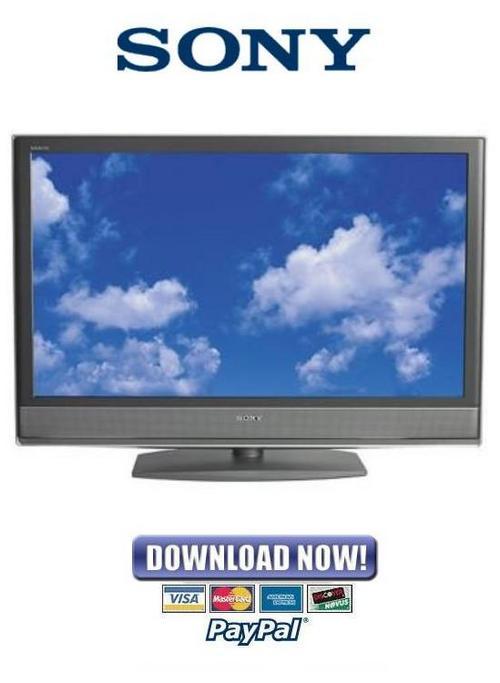 Pay for Sony KDL-46V2500 + 40V2500 + 46V25L1 Service & Repair Manual