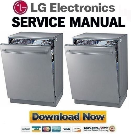 lg ldf6810st service manual repair guide download manuals rh tradebit com LG Dishwasher Zbd0710n00ss Undercounter LDF8812ST Parts LG