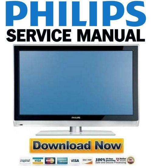 philips 42pfl5322 service manual repair guide download manuals rh tradebit com Philips TV User Manual Philips Instruction Manuals