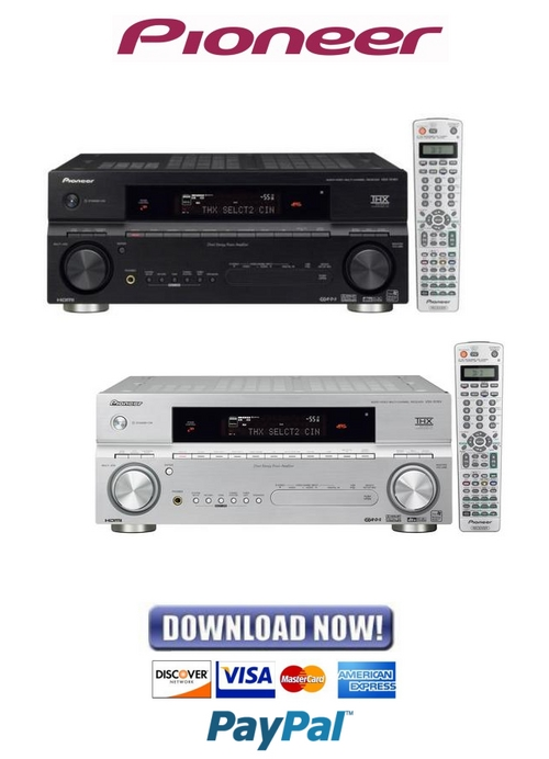 Pay for Pioneer VSX-1016V Service Manual & Repair Guide