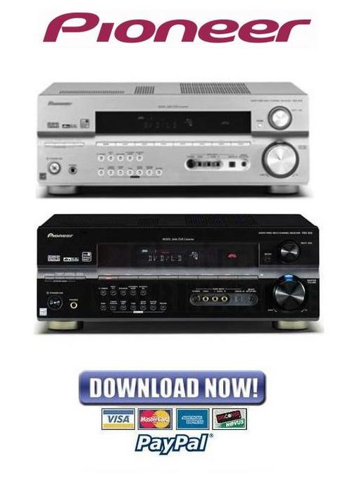 Pay for Pioneer VSX-815 + VSX-915 Series Service Manual and Repair Guide