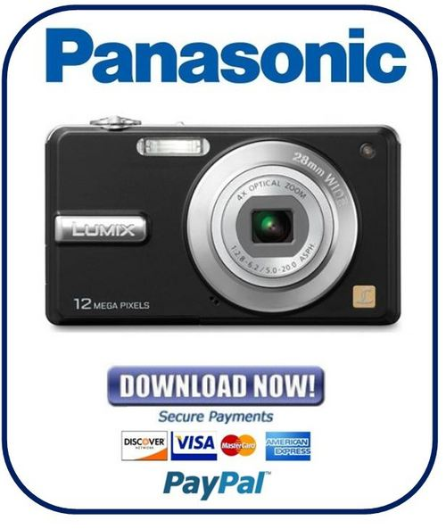 Pay for Panasonic Lumix DMC-F3 + F4 Series Service Manual & Repair Guide