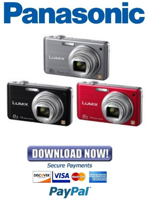 Pay for Panasonic Lumix DMC-FH22 Series Service Manual & Repair Guide