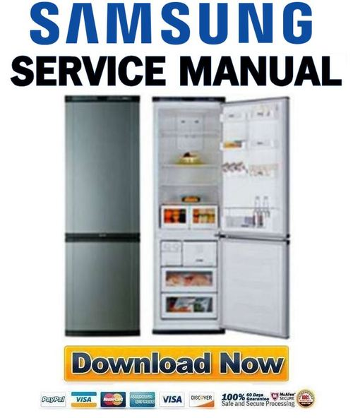 Samsung RL39EBMS Service Manual & Repair Guide - Pligg - photo#4