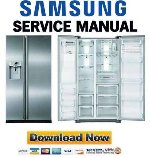 samsung rsg5durs service manual repair guide download manuals rh tradebit com samsung rs265td maintenance manual samsung refrigerator rs265tdrs repair manual