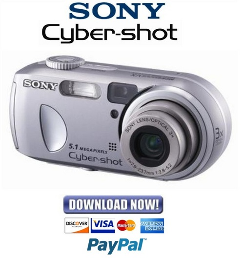 sony cyber shot dsc p93a manual