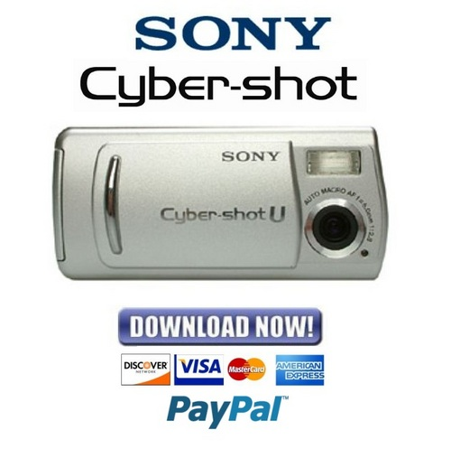 Pay for Sony Cybershot DSC-U20 Service Manual & Repair Guide