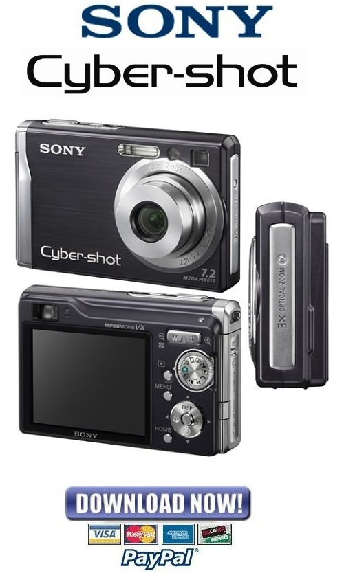 sony cyber shot dsc w80 w85 service repair manual rh digitalrepairmanuals info sony cybershot w80 manual sony dsc-w80 service manual