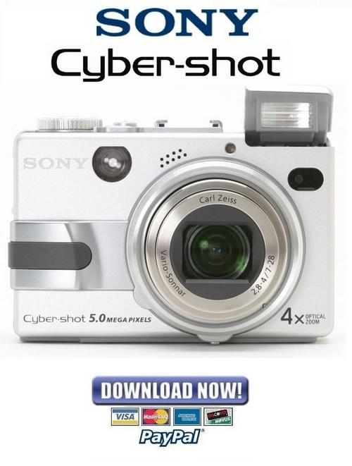 Sony Cyber-Shot DSC-TX5 Service Manual / Repair Guide